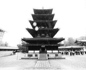 糸崎公朗『法隆寺 五重塔2』