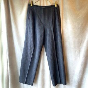 ETRO stripe center crease pants/イタリア製エトロのセンタープレスパンツ