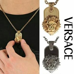 VERSACE ライオンヘッド ネックレス 2カラー シルバー/ゴールド