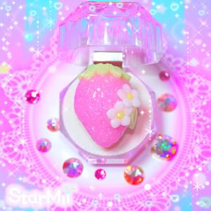 いちごのリング♪(ピンク)
