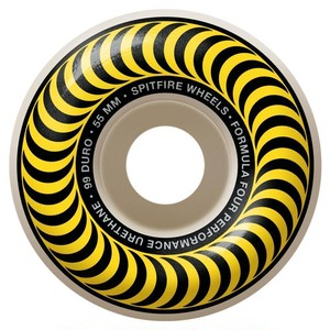 SPITFIRE / F4 CLASSIC / yellow / 55mm / 99d