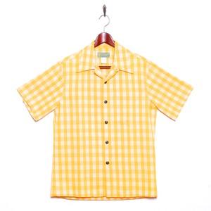 Mountain Men's / オープン パラカシャツ / イエロー