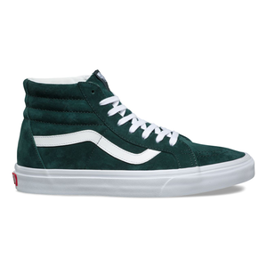 【Vans】スケートハイ PIG SUEDE SK8-HI REISSUE(DARKEST SPRUCE TRUE WHITE)