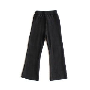 Rib Flare Leggings ブラック S-XXL※メール便可