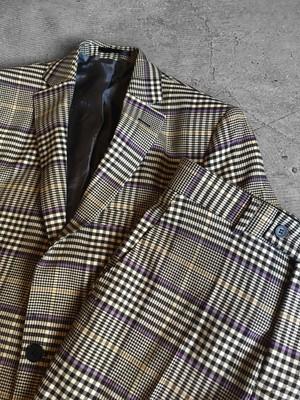 glen plaid suit