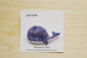 <NEW> parade brooch くじら