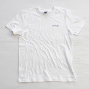 AWJ culture T shirt / white