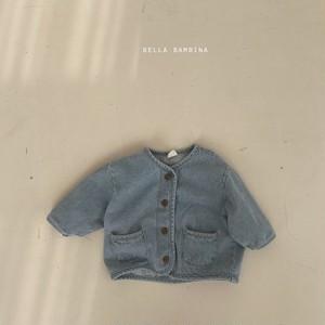【予約販売】row jeans jacket【baby】〈BELLA BAMBINA〉