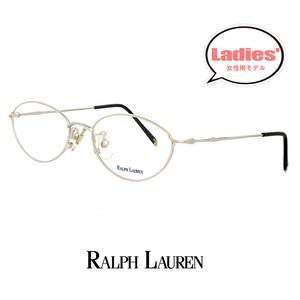 レディース ラルフローレン rl712-pm 49mm Sサイズ メガネ 女性用 小さめ 眼鏡 ralph lauren 軽量 メタル オーバル