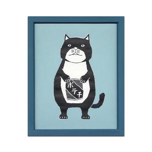 【ZUCO ASOBI イラストレーション】ネコおっさん ポテチ
