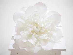 flower pins 〜white〜