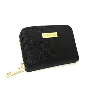 GYPS FLAT コンパクトミニ財布 ブラック