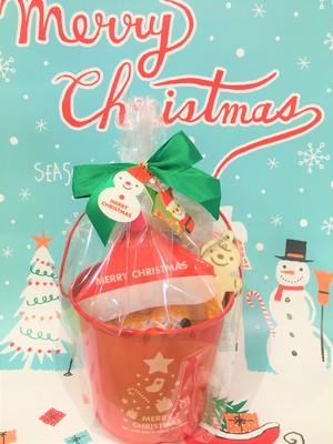 【クリスマス限定】ブリキバケツ
