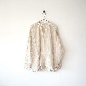 Ordinary fits オーディナリーフィッツ FLORIST BLOUSE WHITE