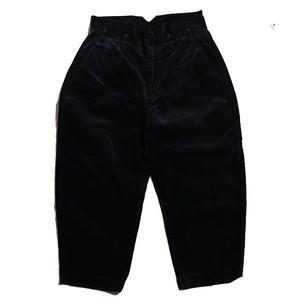 Porter Classic Corduroy Classic Pants 2019 - BLACK - ポータークラシック コーデュロイ パンツ[PC-018-1168]
