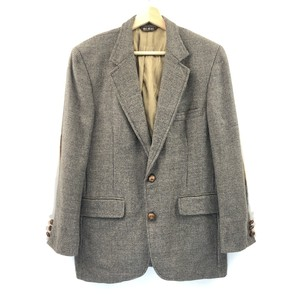 【BILL BLASS】Wool Check Jacket