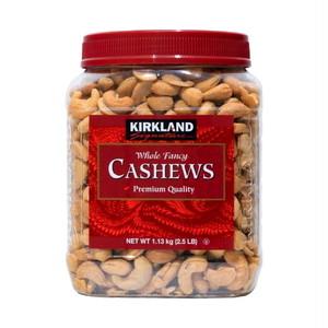 コストコ カークランドシグネチャー カシューナッツ 1.13kg | Costco Kirkland Signature Salted Cashews 1.13kg