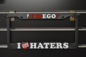 JDM EGO Licence plate frames