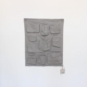 numero74 Wall Pocket  S019 Slver Grey