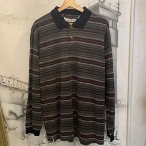 design long sleeve polo shirt