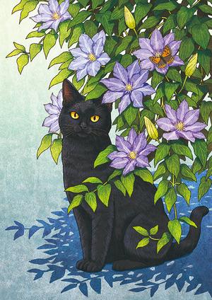 猫と花言葉「美しい心」