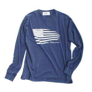 American Flag 【 ピグメントダイ ロンT 】NY