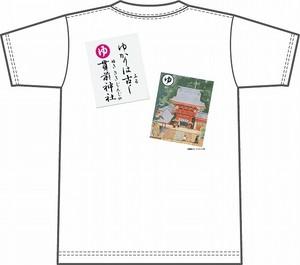 上毛かるた×KING OF JMKオリジナルTシャツ【白・ゆ】