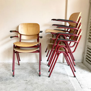 Vintage Stacking Arm Chair  オランダ