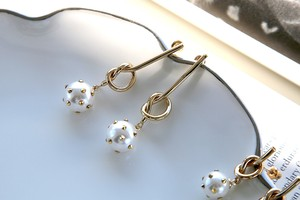 Knot & Pearl long
