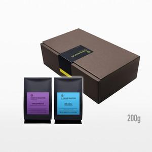 【ギフト】よりどりコーヒー豆2種 200gずつ