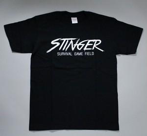 STINGER ロゴ Tシャツ ブラック