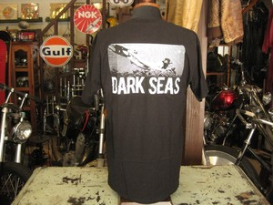 DARK SEAS  TELECAST  Tee (BLACK)
