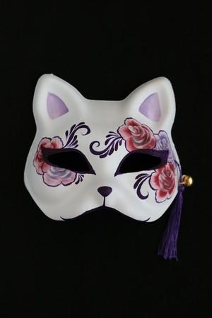 狐面(ピンクバラ)