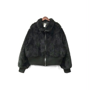 USED - Fake Fur Zip Blouson ¥15500+tax