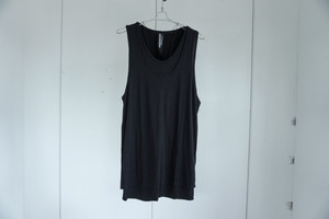 UNDERCOAT / Layered Tanktop / JET BLK