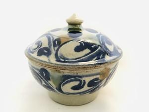 陶器 蓋物(室生窯)