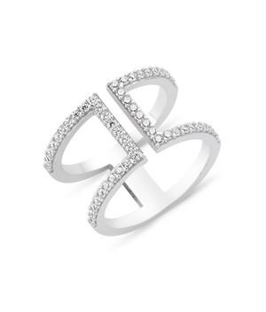 【AMORIUM】 Ires Ring in Silver 【50%OFF】