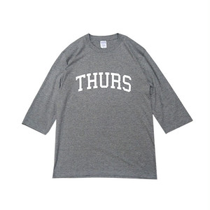 THURSDAY - COLLEGE 1/2 SLEEVE TEE (Grey)