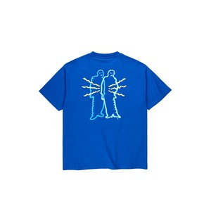 POLAR SKATE CO / ELECTRIC-MAN-TEE -BLUE-