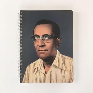 スケッチブック A4 ストライプシャツ|Sketchbook A4  Stripe Shirt(PUEBCO)
