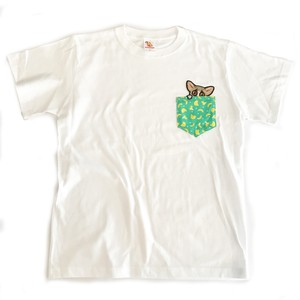 PIZZATORUくんコラボTシャツ ※受注生産 ホワイト/ブラック