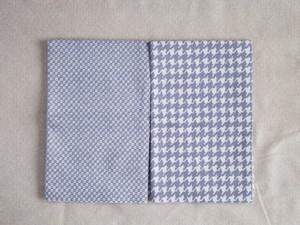 Moda Yuletide Gatherings Flannels ホワイトグレーカットクロスセット 2