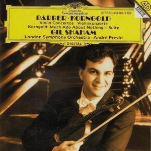 [中古CD] バーバー&コルンゴルト:ヴァイオリン協奏曲 シャハム&プレヴィン&ロンドン交響楽団