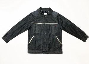 19AW  ブラックデニムラグランワーキングジャケット / Black denim raglan working jacket