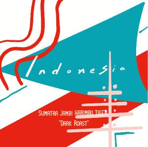 "Indonesia 100g  ""Dark Roast"""