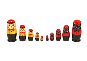 Semyon cat Matryoshka 5 piece