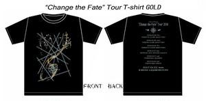 FATE Tシャツ黒・金