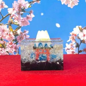 山頂が飛び出た?!木花咲耶姫⛩✨の縁起がいいオルゴナイト大