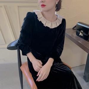 rétro frill dress