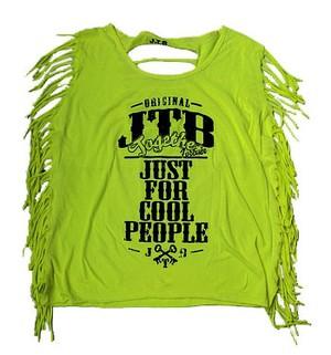 【JTB】 FRINGE タンクトップ【イエロー】【新作】イタリアンウェア【送料無料】《M&W》